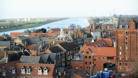 Anglian Water said there are water supply problems in parts of King's Lynn Picture: Ian Burt