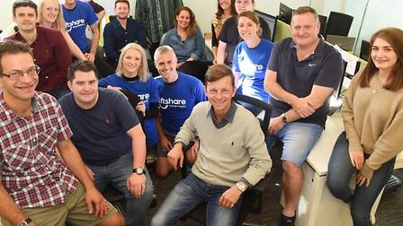 The Liftshare team in Norwich Picture: Submitted