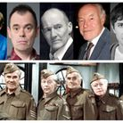 The full cast have been announced for a remake of three lost episodes of Dad's Army. L-R is Kevin Mc