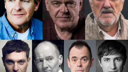 Dad's Army: The Lost Episodes. Picture shows: Top row: (L-R) Robert Bathurst, Kevin McNally, Bernard