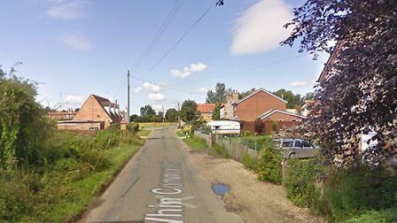 Fire crews tackled a blaze at Whin Common Road. Picture: Google
