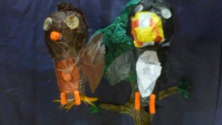 Miniature Woods family workshop at the Norwich Puppet Theatre
