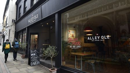 The Alley Ole Spanish restaurant in Norwich. Picture: ANTONY KELLY