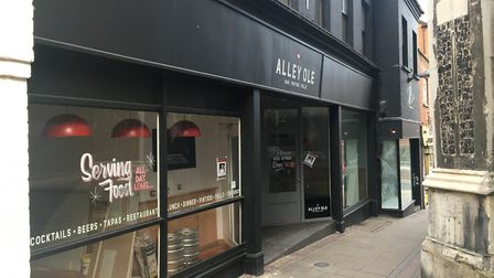 Spanish restaurant Alley Ole in Norwich appears to have closed ahead of a possible relocation. Photo