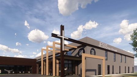 Images of what the new Soul Church could look like. Pics: Feilden+Mawson.