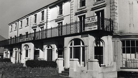 Back then, the Imperial Hotel, Backs Bar in September 1969. This former hotel was then divided into