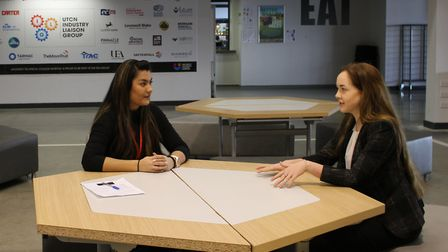 Students at University Technical College Norfolk have received advice from TEC Partners. Pictures: T