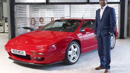 Lotus boss Uday Senapati has been banned from the roads for drink-driving. Picture: Lotus.