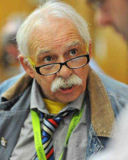 Tim East, Liberal Democrat county councillor for Costessey. Picture; Bill Smith