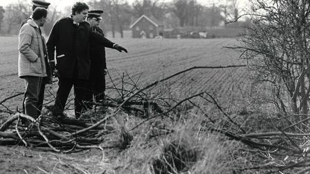 Police investigating the disappearance of Jeanette Kempton in 1989. Photo: Archant