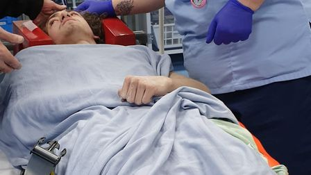 Wayne Tingey suffered a bleed on the brain after a hit-and-run in Denmark Road, Lowestoft. Photo: Ji