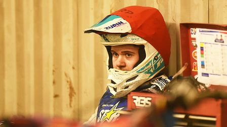 Erik Riss has signed a full contract with King's Lynn Stars Picture: Ian Burt
