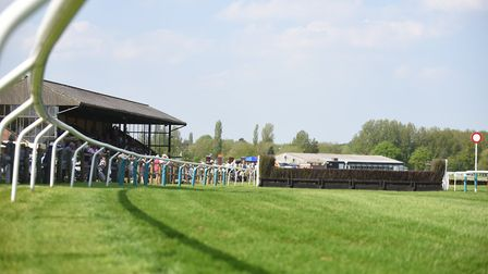 It was Silver Cup day at Fakenham Racecourse, with James Bowen taking the big prize Picture: Ian Bur