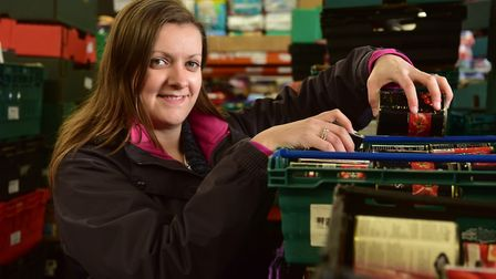 Norwich foodbank project manager Hannah Worsley.PHOTO: Nick Butcher