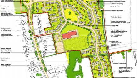 Developers had wanted to build 148 homes and a new primary school in Brooke but the plans had drawn