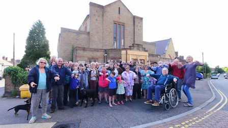 Neighbours to St Peter's Methodist Church have campaigned against plans to turn it into houses. PHOT