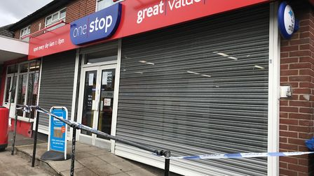 The One Stop on Woodcock Road where a robbery took place. Photo: Lauren Cope