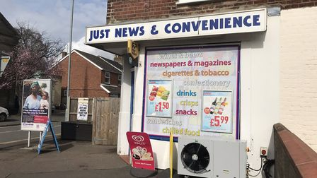 The Just News and Convenience store on Nelson Street. Photo: Norwich