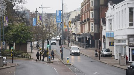 Prince of Wales Road, Norwich. Picture: DENISE BRADLEY