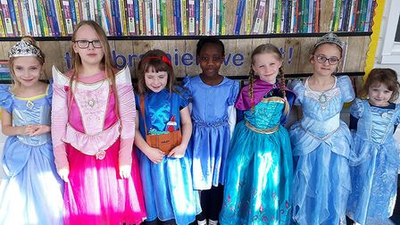 Children at Norwich Primary Academy dress up for World Book Day 2019. Photo: Norwich Primary Academy
