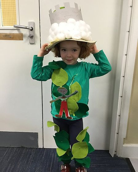 Children at Charles Darwin Primary in Norwich dress up for World Book Day 2019. Photo: Charles Darwi