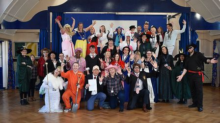 Staff at Great Yarmouth Primary Academy joined in the dressing-up fun on World Book Day 2019. Photo:
