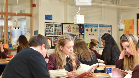 For World Book Day students at Hellesdon High School spent the first 15 minutes of every lesson read