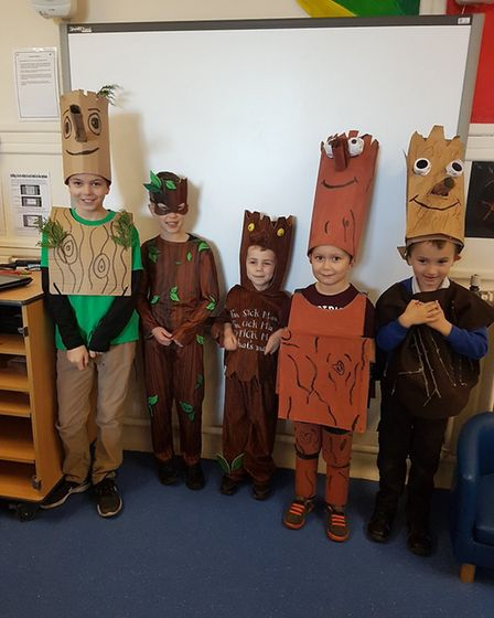 Children and staff at Iceni Academy-Hockwold enjoyed dressing as their favourite Julia Donaldson cha