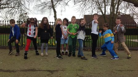 Middleton Church of England Primary Academy students celebrating World Book Day 2019. Photo: Middlet