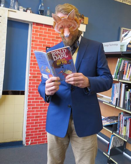 Old Buckenham High School staff and students dressed up for World Book Day 2019. Photo: Old Buckenha