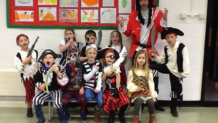 Rollesby Primary School on World Book Day 2019. Photo: Rollesby Primary School