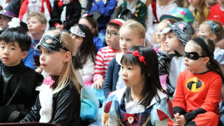 Book Day celebrations at Town Close School. Photo: Town Close School
