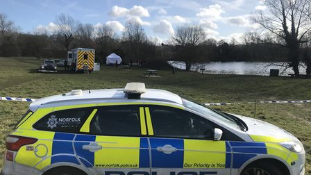 Nick's body was found in the UEA lake 11 days after he disappeared. Picture: Archant