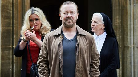 After Life written by and starring Ricky Gervais (C) Netflix