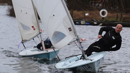 Action from Snowflake SC Picture: Ian Symonds.