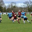 Wymondham on the attack during their recent win over Woodbridge at Barnard Fields Picture: KERRY LAK