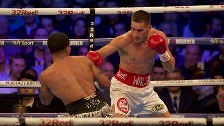 The last time Liam Walsh fought - against Gervonta Davis in May 2017. The Cromer man is looking forw