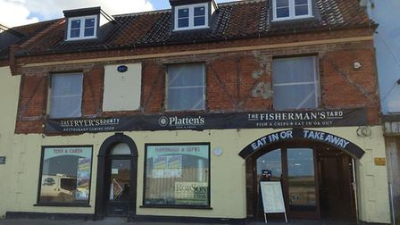 Plattens Fish and Chips has been featured on a list of the UK's top 50 fish and chip takeaways. Pict