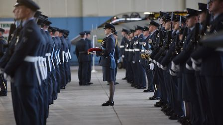 RAF Marham holds its disbandment parade for the final two Tornado squadrons. Picture: Sonya Duncan C