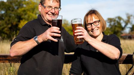 David and Rachel Holliday of The Norfolk Brewhouse Picture: Rae Shirley Photography