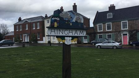 Hingham, where robbers attacked a woman, stealing her car and jewellery. Picture: Conor Matchett