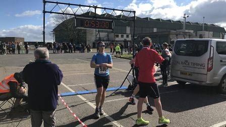 Action from the Mad March Hare 10K. Picture: Mark Armstrong