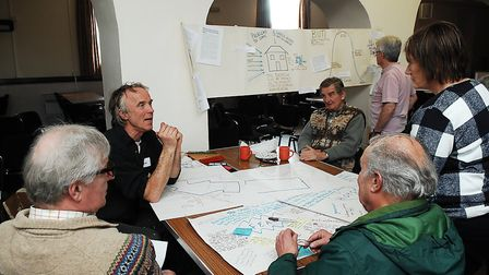 Villagers at the public consultation event at Stoke Ferry Picture: Chris Bishop
