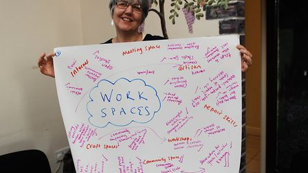 Sandra McNeil, one of ther organisers of the meeting Picture: Chris Bishop