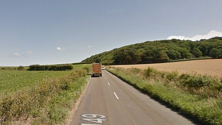 Police told drivers to avoid the Sheringham Road A149 to Weybourne following an accident. Photo: Goo