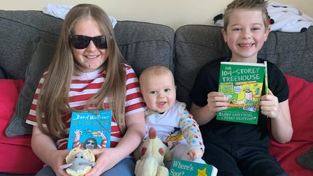 Ready for World Book Day 2019. Photo: Vicky Wilson