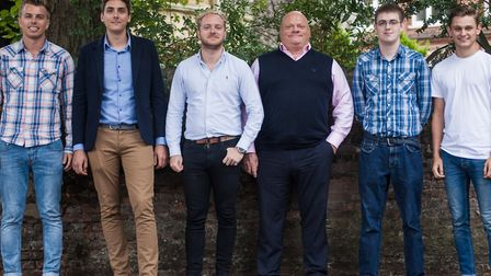 The team at Pickr. Picture: Pickr
