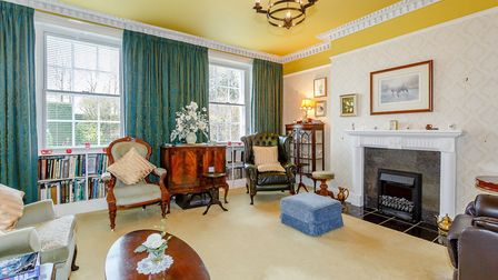 The property, parts of which date back to the 17th century, offers a number of elegant reception roo