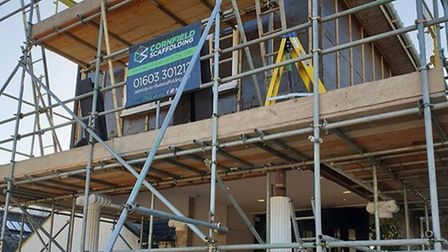 Work is going on to refurbish the building called the Boudicca Hotel. Pic: The Boudicca Hotel.