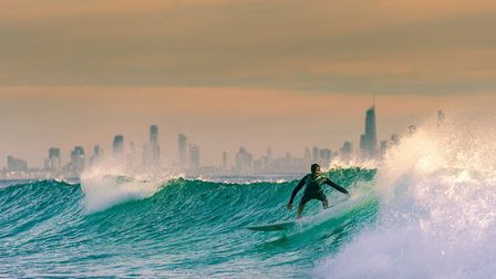 A morning surf on the 'Gold Coast' in Australia. Pic: www.gettyimages.co.uk